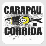 Carapau De Corrida Calcomanías Cuadradass Personalizadas