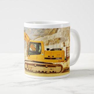 Cararra Quarry Digger 20 Oz Mug
