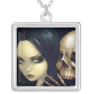 Caras de la hada del vampiro del cráneo del COLLAR