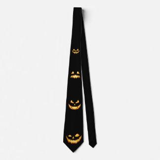 Caras de la linterna de Jack O Corbatas Personalizadas