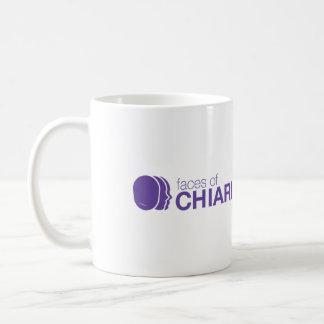 Caras de la taza del logotipo de Chiari