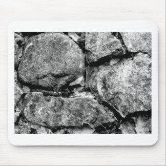 Caras de piedra tapetes de ratones