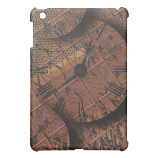 Caras de reloj texturizadas sucias oxidadas de