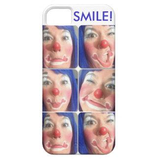 Caras del flor de la risita iPhone 5 Case-Mate coberturas