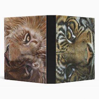 """Caras del tigre y del león carpeta 1"""""""