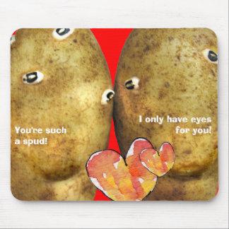 Caras divertidas de la patata de Mousepad de la