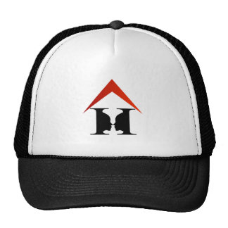 Caras en una casa para crear un florero gorras de camionero