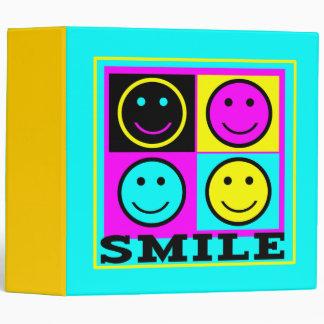 Caras lindas del smiley de la SONRISA CMYK