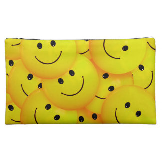 Caras sonrientes amarillas felices frescas de la