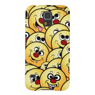 Caras sonrientes divertidas de Grumpeys fijadas Carcasa Galaxy S5