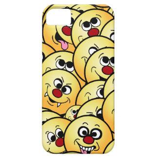 Caras sonrientes divertidas de Grumpeys fijadas Funda Para iPhone SE/5/5s