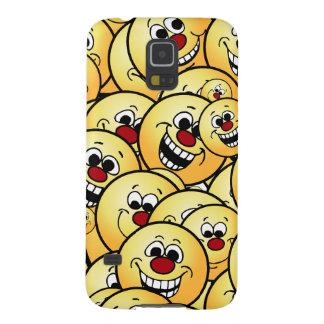 Caras sonrientes felices de Grumpeys fijadas Carcasa Galaxy S5