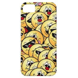 Caras sonrientes tontas de Grumpeys fijadas Funda Para iPhone SE/5/5s