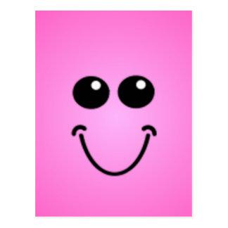 Caras sonrientes tontas de lujo postales