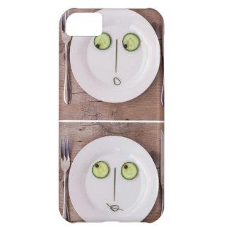 Caras vegetales funda para iPhone 5C