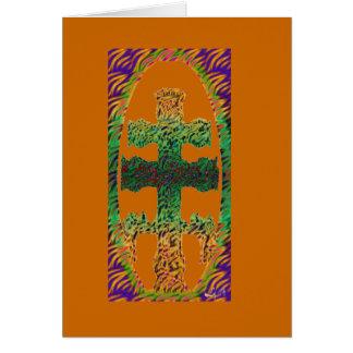 CARAVACA CROSS BY LIZ LOZ GREETING CARDS