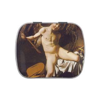 Caravaggio- Amor victorioso Frascos De Caramelos