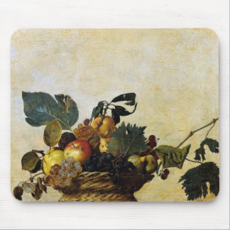 Caravaggio and a Basket of Fruit Mouse Pad