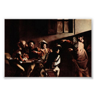 Caravaggio-Appeals of St. Matthew Poster
