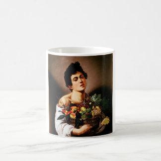 Caravaggio Boy With a Basket of Fruit Mug