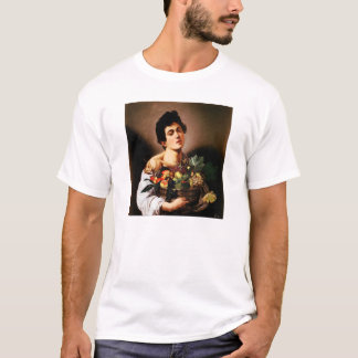 Caravaggio Boy With a Basket of Fruit T-shirt