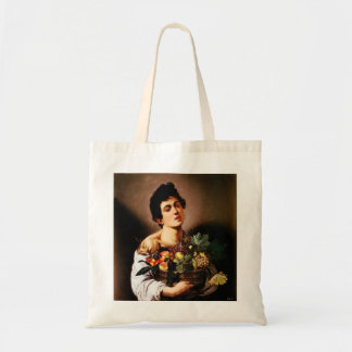 Caravaggio Boy With a Basket of Fruit Tote Bag
