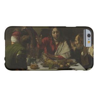 Caravaggio - cena en Emmaus Funda Barely There iPhone 6