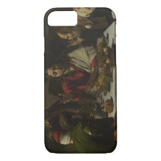 Caravaggio - cena en Emmaus Funda iPhone 7
