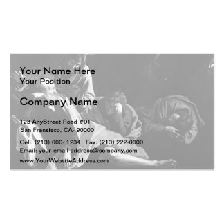 Caravaggio- Christ on the Mount of Olives Business Cards