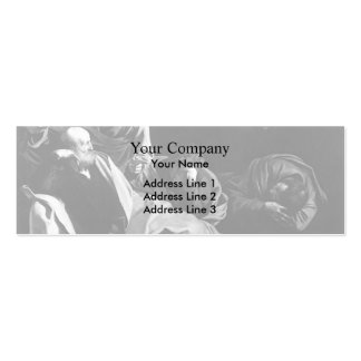 Caravaggio- Christ on the Mount of Olives Business Card Template