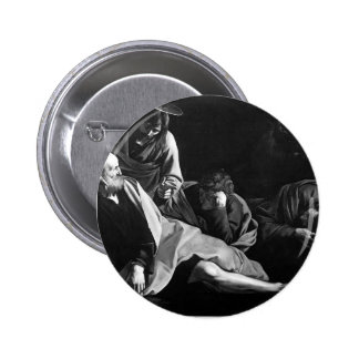 Caravaggio- Christ on the Mount of Olives Buttons