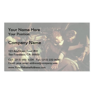 Caravaggio- Conversion of Saint Paul Double-Sided Standard Business Cards (Pack Of 100)