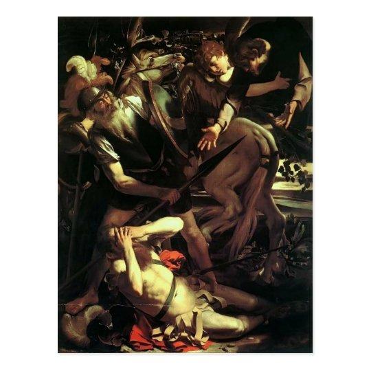Caravaggio- Conversion of Saint Paul Postcard