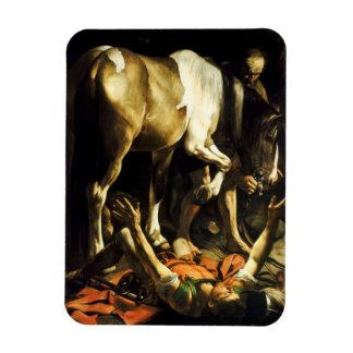 Caravaggio Conversion of St. Paul Magnet