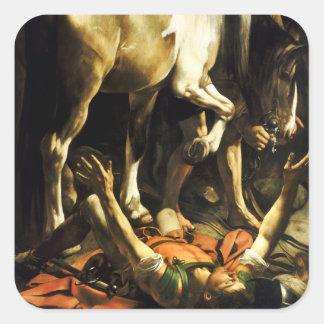 Caravaggio Conversion of St. Paul Stickers
