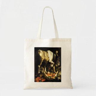 Caravaggio Conversion of St. Paul Tote Bag