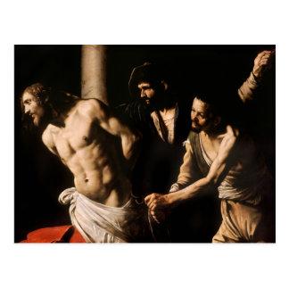 Caravaggio - Cristo en la columna Postales