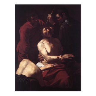 Caravaggio- Crowning with Thorns Postcard