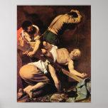 Caravaggio-Crucifixión de San Pablo Impresiones
