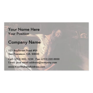 Caravaggio- Crucifixion of Saint Andrew Business Card Templates
