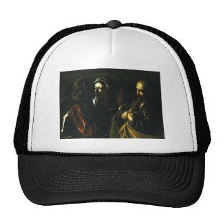 Caravaggio- Denial of Saint Peter Mesh Hats