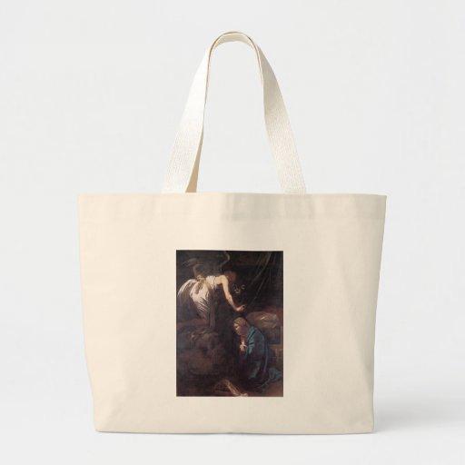 Caravaggio el anuncio bolsa tela grande