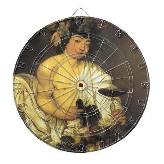 Caravaggio el Bacchus joven Tablero Dardos