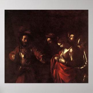 Caravaggio el martirio de Santa Ursula Posters