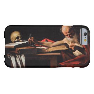 Caravaggio - escritura de Jerome del santo Funda Barely There iPhone 6