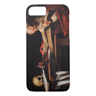 Caravaggio - escritura de Jerome del santo Funda iPhone 7