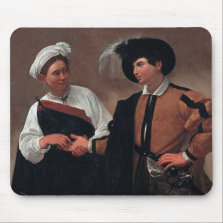 Caravaggio - Good Luck Mouse Pad