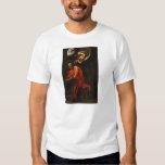 Caravaggio- Inspiration of Saint Matthew Shirts