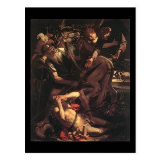 Caravaggio la conversión de San Pablo Tarjetas Postales