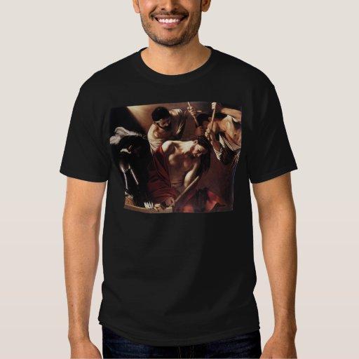 Caravaggio la coronación con las espinas polera